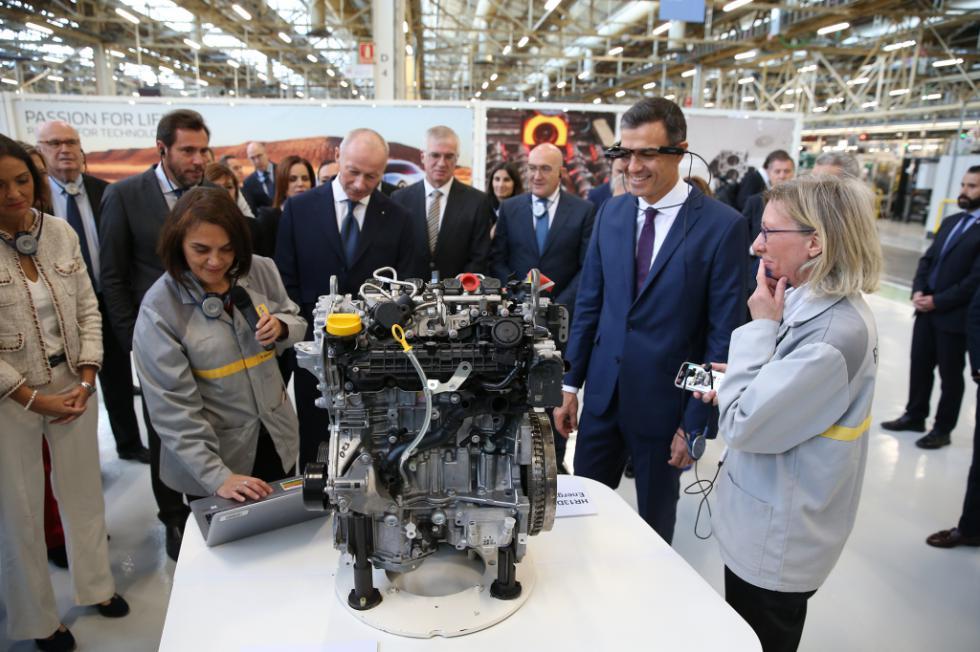 Pedro Sánchez destaca el incremento del 6,7% en ciencia e I+D+i en los presupuestos para 2019