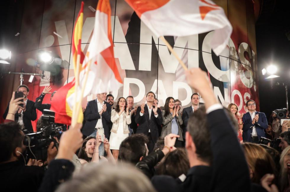 """Rivera: """"Sánchez e Iglesias van a formar gobierno con los nacionalistas"""""""
