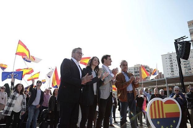 """Rivera: """"Fue un error histórico entregar Cataluña a los nacionalistas y no a los catalanes"""""""