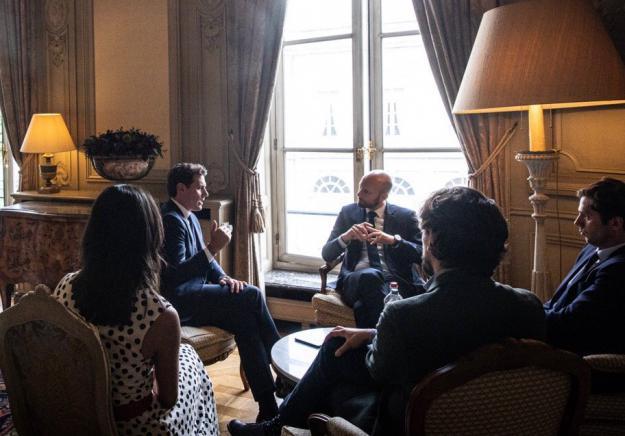 """Rivera se reafirma: """"Compartimos con Macron la misma disposición para reformar Europa"""""""