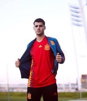 La polémica camiseta de la selección española para el Mundial de Rusia 2018