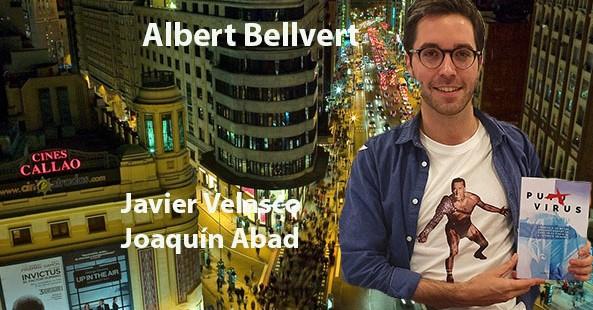 'Puto Virus', el debut editorial del estudiante de medicina Alber Bellvert