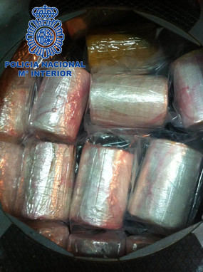 Incautados 745 kilos de cocaína en Portugal procedentes de España