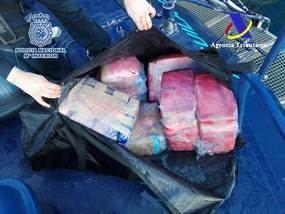 Aprehendidos en el puerto de Algeciras 380 kilos de cocaína ocultos bajo la línea de flotación de un buque portacontenedores