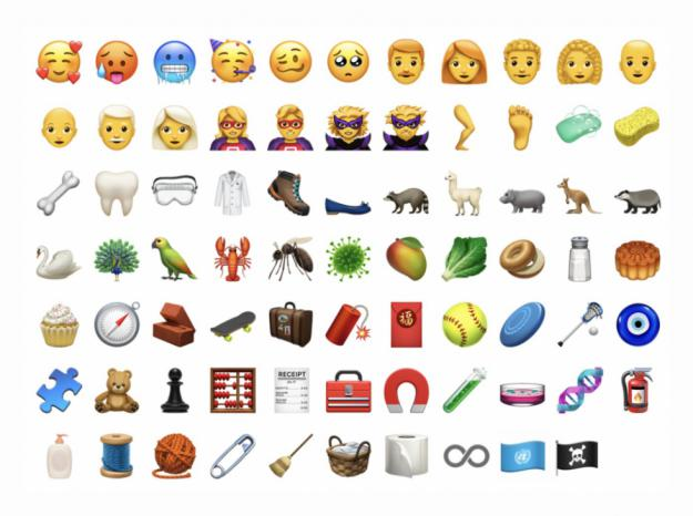 Apple añadirá 70 nuevos emoji al iPhone
