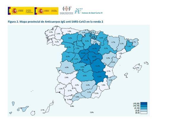 España sigue muy alejada de la 'inmunidad de rebaño'