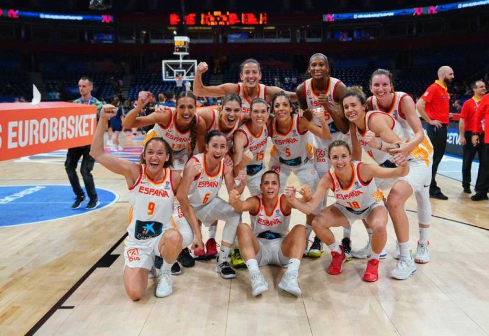 El triunfo de España en el Eurobasket, el partido más visto de la historia del baloncesto femenino