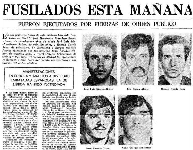 El FRAP revive como primer 'trending topic' en España 42 años después de su disolución