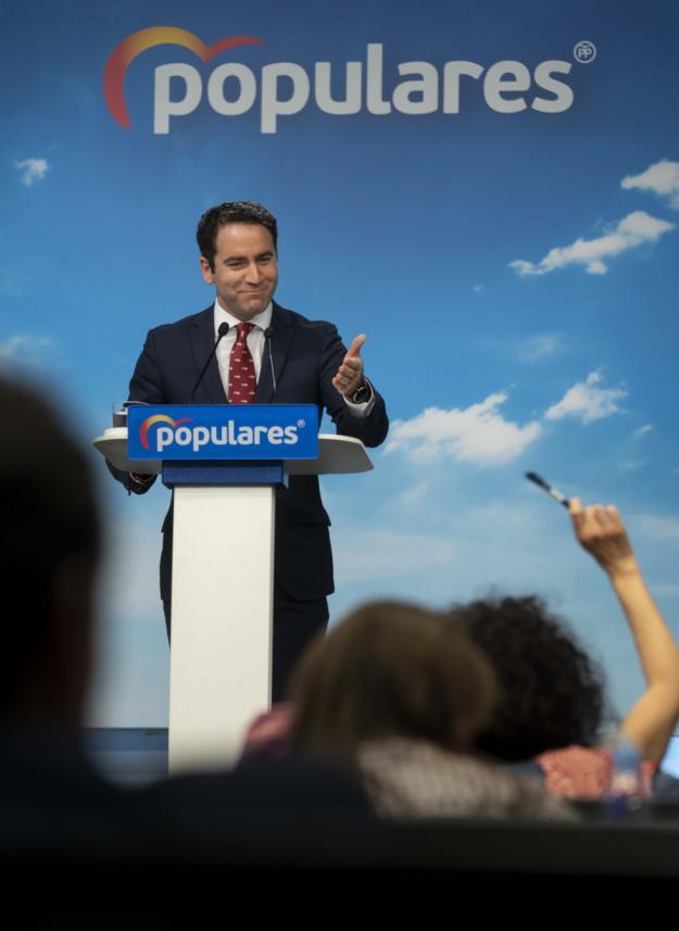 """García Egea: """"El PP no es un partido bisagra ni tiene vocación de serlo"""""""
