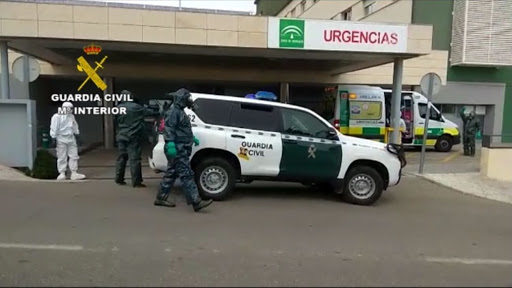 Interceptado en Nerja tras dar positivo en coronavirus y huir de un hospital de Madrid