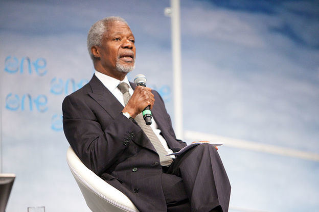 Kofi Annan, ex secretario general de la ONU y Nobel de la Paz, ha fallecido