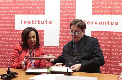 """Margarita Robles: """"El español siempre ha sido un idioma de paz, de derechos y libertades"""""""