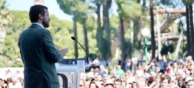 Casado sobre Cataluña: