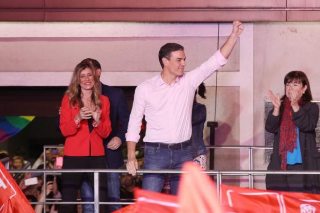 Sánchez no cierra la puerta a Ciudadanos tras su victoria electoral