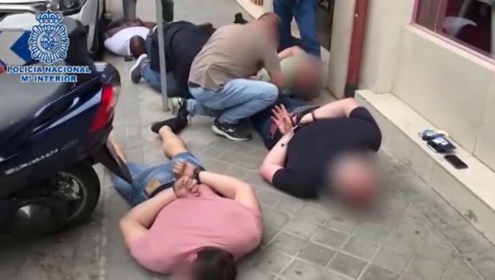 Policía libera a un ciudadano argentino tras permanecer secuestrado