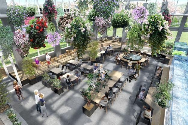 Tokio inaugura el primer jardín digital