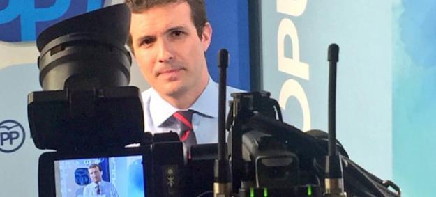 """Casado: """"Es necesario unir el voto en torno al PP"""""""