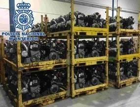 Desmantelado un grupo dedicado al robo de camiones de gran tonelaje