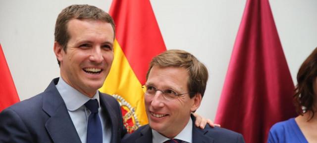 """Casado insiste en que el PP """"es la verdadera alternativa"""""""